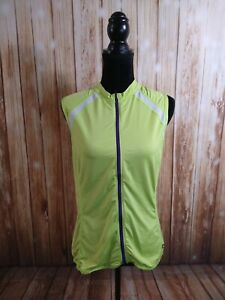 EUC men's blue & yellow CANNONDALE cycling jersey / SIZE LARGE