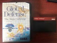GLOBAL DEFENSE SEGA MASTER SYSTEM GAME