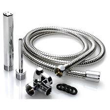 Aqua Shot Deep Shower Enema Douche Cleansing System Nozzle Tip & T-adapter, Hose