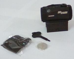 Sig Sauer SOR50000 Romeo5 1x20mm Compact 2 Moa Red Dot Sight - Open Box