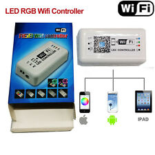 12-24V LED Wifi Controller RGB 5050 3528 Strip Light for iOS iPhone Android APP