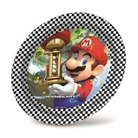 MARIO KART - Birthday PARTY RANGE (Tableware, Balloons & Decorations) Boys/Girls