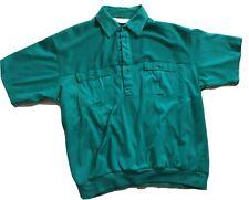 Classics by Palmland Mens 3-Button Golf Polo Shirt Size L