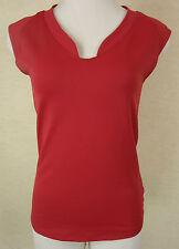Ärmellose Damen-Shirts mit V-Ausschnitt und Stretch