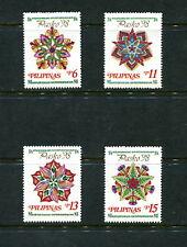 Philippines 1998  #2557-60  Christmas    Parol lanterns  4v.  MNH  E322