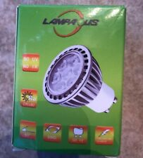 LAMPAOUS GU10 LED Bulb,7W Light Bulb, Pure White Non-Dimmable Recessed YF-D-02