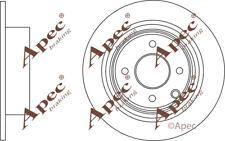 REAR BRAKE DISCS (PAIR) FOR NISSAN CUBE GENUINE APEC DSK2769