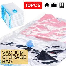 10 X Vakuumbeutel Vacuum Vacuum Aufbewahrungsbeutel für Betten und Kleidung DE