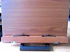 Wiztem Jasmine Book Stand Portable Wooden Reading Holder Desk Bookstand 15 x 11