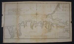 SEVASTAPOL (AKTIAR) HARBOR CRIMEA RUSSIA UKRAINE1809 CLARKE ANTIQUE MAP*