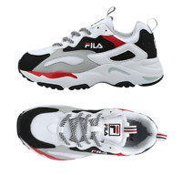 New FILA Tracer Shoes Whtie Navy Red Limited Edition US Size 4-10 TN