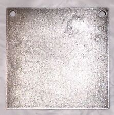 """AR500 Steel Target Square Gong 1/2"""" X 10"""""""