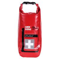 2L Wasserdicht Erste Hilfe Transportbeutel Packsack Transportsack Dry Bag Rot