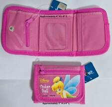 Disney Tinkerbell Tri Fold Kids Wallet