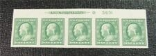 nystamps US Plate Stamp # 383 Mint OG H/NH $20 Plate Of 5