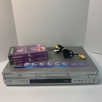 Sony SLV D350p DVD VCR Video Combo Player 4 Head HI-FI Stereo VHS Tested Working