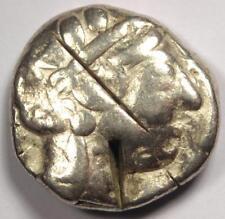 Ancient Athens Greece Athena Owl Tetradrachm Coin (454-404 Bc) - Fine Condition