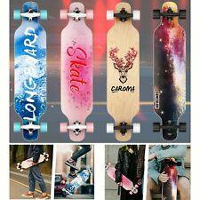 CAROMA Skateboard Longboard KompletteBoard 8Lagen Ahorn für Anfänger ABEC-11 DHL