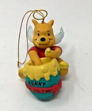 Christmas Tree Ornament DCA Winnie The Pooh Honey Hunny Pot Angel Wings 4904 NEW