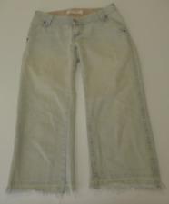 Levis 504 Junior Womens Size 5 Slouch Cut Off Capri Jeans Excellent Condition