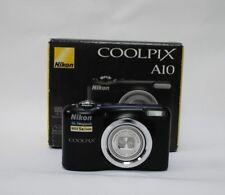 Nikon COOLPIX A10 16.0MP Digital Camera - Black  nikon uk stock