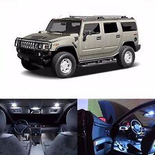 LED Lights Interior Package Kit For Hummer H2 2003-2006 - 24 LEDs White