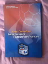 FOOTBALL. COFFRET COLLECTION CARREFOUR EQUIPE DE FRANCE 2010.
