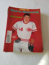 Pete Rose of the Cincinnati Reds -Sports illustrated d 4/8/1974