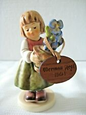 "Goebel Hummel ""Birthday Present"" #341 3/0 • Tmk7 • 4"" Tall • Signed • Mint!"