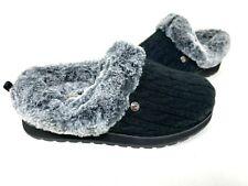 Skechers Women's Bobs Keepsakes Ice Angel Fuzzy Shoes Black #31204 Size:9.5 145G