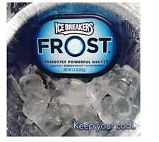 ICE BREAKERS FROST Mints,Peppermint,Sugar Free,1.2 Ounce Container (Count of 6)