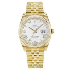 Relojes de pulsera Rolex Datejust oro