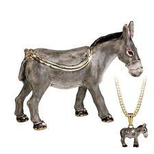 Secret - Hidden Treasures Donkey Trinket Box NEW in Gift Box   25980