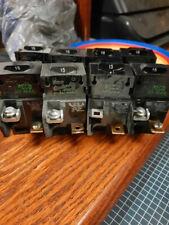 8 Pushmatic 15 Amp P115 Circuit Breaker