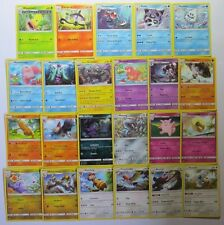 GUARDIANS RISING - Complete Uncommon Pokemon Character Cards Set