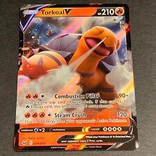 Pokemon Sword and Shield Set Ultra Rare Torkoal V 024/202 - Near Mint (Nm)