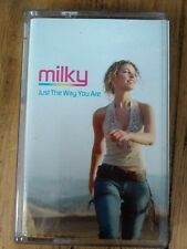Milky Just The Way You Are Rare Cassette Single