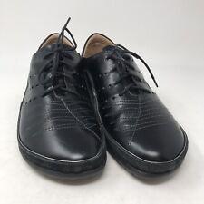 Kumara Black Women/'s EU40 US 9-9.5 New Naot Leather Lace-up Shoes