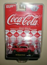 M2 Machines COCA COLA 1955 CHEVY BEL-AIR,Rc02 new