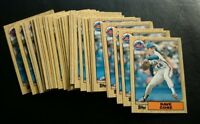 1987 TOPPS TRADED #24T DAVID CONE ROOKIE CARD RC LOT OF 30 NEW YORK METS NM-MT+
