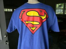 DC Comics Official Superman Splatter Logo Womens T-Shirt Donna