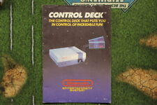 NES Control Deck Instruction Manual (With Nintendo Seal), Video Game Manuals use