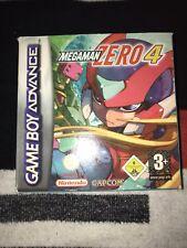 Mega Man Zero 4 (GameBoy Advance) mit OVP & Anleitung. Sammlungsauflösung!!!