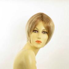 short wig woman smooth light blonde wick light copper blond ref: BLANDINE 27t613