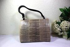 MARNI Snakeskin Snake Leather Tote Hand Bag Shoulder Bag Italy