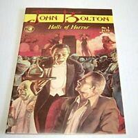 John Bolton Halls of Horror #1 (Eclipse) 1985 -- Horror Comics -- VF/VF+