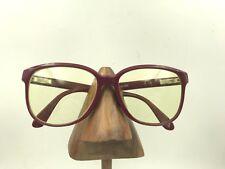 2c0b166b86d Vintage Rodenstock Exclustu 356 Burgundy Square Sunglasses Frames Germany