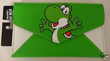 Yoshi Super Mario Brothers Video Game Nintendo Envelope Wallet Nwt