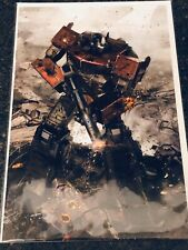 "Transformers #1 ""Gallagher"" Virgin Variant Ungraded"