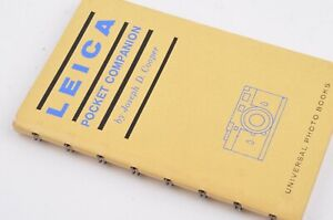 EXC++ LEICA POCKET COMPANION BY UNIVERSAL PHOTO BOOKS, VERY CLEAN, COMPLETE